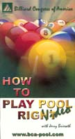 How to Play Pool Right (VHS)